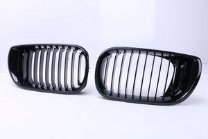 2 шт. Высокое Качество ABS Блеск Черный Передняя Почка Гонки Решетки Грили Для BMW E46 4 Двери 320i 325i 330i LCI 2002 - 2005 Седан C / 5
