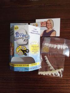 Nueva moda Hip Hop Gold Braces Instant Smile Silicone Tooth Braces Smile Dental Grills Envío gratis