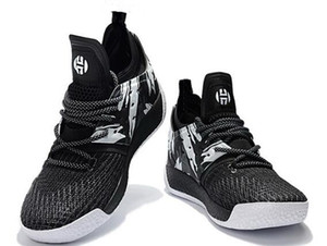 Harden Vol 2 Basketball-Schuhe Online-Shop, 2018 neue getrommelt Leder, in voller Länge Schuhe, Mode Sporttraining Turnschuhe, Sportschuhe Lauf