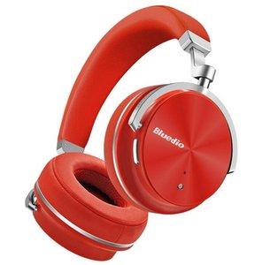 새로운 헤드폰 Bluedio T4S 헤드폰 능동 소음 무선 블루투스 헤드폰 ANC 에디션 헤드셋 3D 귀 주변 소리
