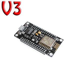 Spedizione Gratuita 1 PZ / LOTTO ESP8266 CH340G CH340 G NodeMcu V3 Lua Wireless WIFI Module Scheda di Sviluppo Connettore Basato ESP-12E