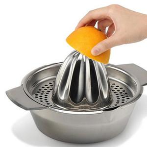 Prensa de aço inoxidável Frutas lemon orange Squeezer com Filtro Juicer Manual Juicer Citrus cozinha bar Food Processor