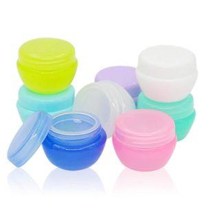10g Scatole di crema vuote crema Bottiglia di crema di funghi Jar imballaggio cosmetico bottiglie riutilizzabili bottiglie di plastica LX1222