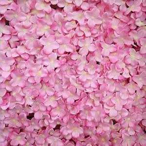 زهرة الجدار الزفاف المركزية الزهور الاصطناعية حجم الجدار حوالي 40 * 60 سم سبعة خيارات الألوان كوبية الاصطناعي زهرة AF02