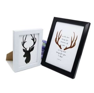 Adeeing 6 pulgadas / 8 pulgadas Wall-Hanging Photo Frame Cuadro creativo Picture Album Home Decoration