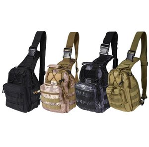 Hotsale 9 colori 600D zaino tattico spalla campeggio escursionismo borsa camuffamento caccia zaino spedizione gratuita