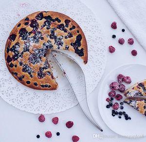 Bolo cortador de bolo de aço inoxidável cortador de bolo fondant ferramentas de sobremesa faca de torta cortador de molde diy pão bolo corte clipe