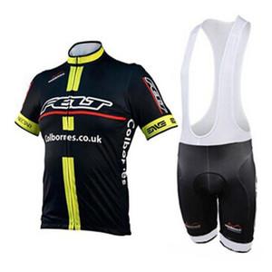 FELT team Cycling jersey Suit Short Sleeves Shirt (bib) shorts sets men summer mountain bike clothes Wear 3D gel pad H1507