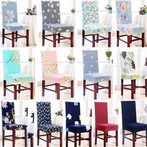 Ziyafet Düğün HH7-1214 İçin Oda Başkanı Koltuk Kapak Koruyucu Seat Yemek 26 Styles Sandalye Kapak Çıkarılabilir Yıkanabilir Stretch slipcovers