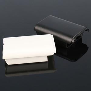 화이트 블랙 배터리 팩 백 커버 쉘 쉴드 케이스 구획 키트 Xbox 360 컨트롤러 배터리 홀더 고품질 빠른 배송