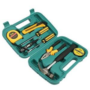 Hardware Auto Emergency Kit Set 9 in 1 Präzisions-Schraubendreher-Set Zangen Hammer Schraubendreher Messer Reparieren Tool Multi-Tools Heißer Verkauf