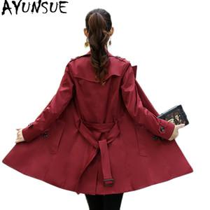 AYUNSUE Casaco Feminino Plus Size Trenchcoat Für Frauen Windbreaker Outwear Kleidung EleCoat Frauen Abrigo Mujer KJ125