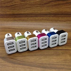 Auto-Ladegerät Traver Adapter Car-Stecker Hot Selling Triple 3 USB Ports KFZ-Ladegeräte für 6s 7 und Samsung s6 s7 Rand