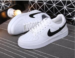 Горячие продать размер 36-44 2017 обновленная версия Новый все белые туфли мужчины и женщины Модные Повседневная обувь