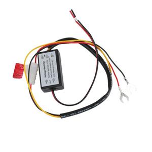 DRL 컨트롤러 자동 차 LED 주간 주행 등 컨트롤러 컨트롤러 하네스 디머 온 / 오프 12-18V 안개등 컨트롤러