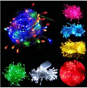 220V 여러 색상 9m 100pcs Led 조명 크리스마스 / 축제 / 파티 / 바 실내 실외 방수 장식 조명 Led 밤 불빛 조명
