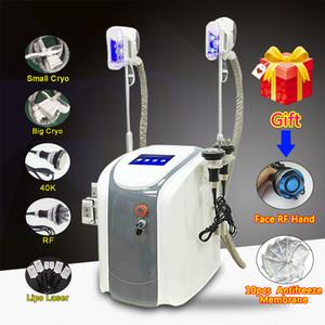 NEUE Cryolipolysis-Fettabsaugungs-Laser-Maschinen-Fett-Frost-Maschine Lipolaser kalter Lipo Laser-Ultraschallhohlraumbildung, die Maschine abnimmt