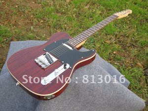 Venda quente 2018 nova chegada guitarra Guitarra Elétrica Telecaster China fábrica de guitarra com Zebra chama no corpo Frete grátis