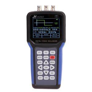 Handheld Multifuncional Osciloscopio Digital + Generador de Señal Portátil Medidor de Alcance 20 MHz de Ancho de Banda 200MSa / s 1CH TFT LCD