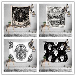 Euramerican 점 점성술 태피스트리 침실 벽 식탁보 침대 시트 요가 매트 비치 타올 파티 배경을 인쇄 장식을 매달려