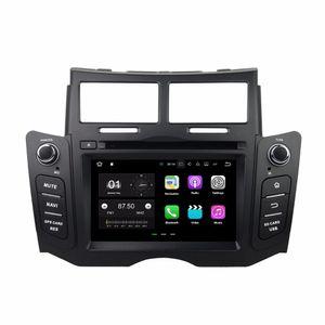 """Android 7.1 Quad Core 6.2 """"Voiture DVD Autoradio dvd GPS Multimédia Tête Unité pour Toyota Yaris 2005-2011 Avec Bluetooth WIFI USB Miroir-lien"""