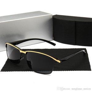 Marque Audi nouveaux hommes lunettes de soleil polarisées lunettes de conduite lunettes de soleil big fashion 551 4 couleurs avec étui