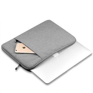 Jean Denim Tecido Carrying Bag Capa protetora para MacBook 11 13 15 polegadas Xiaomi Ar Universal Zipper sacos