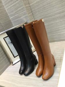 Black Brown Leather Woman Knight bottes or embelli hiver automne piste romaine sexy mode bottes de bottes genou haute chaussures en daim