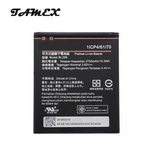 BL259 Li-ion Batterie de Remplacement Pour Lenovo K32C36 citron K3 K5 K5 Plus Téléphone Mobile Batterie Bateria AKKU 2750mAh + Expédition Rapide