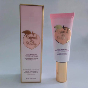 Primed Peachy Cooling Matte Skin Perfecting Primer Primed Infused with Peach & Sweet Fig Cream DHL free shipping