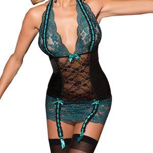 Abiti taglie forti M-XL Sexy Ladies nightdress nightwear summer dress lace dress sexy sarafan Full Slips Lace Slip pespective intimo