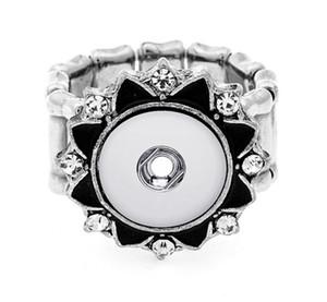 جديد diy التقط زر مجوهرات الأزياء كريستال خواتم المفاجئة للتعديل szie البسيطة خواتم صالح 12 ملليمتر المفاجئة المجوهرات