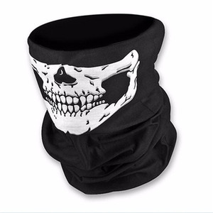 Wholesale Skull Design Multi Function Bandana Outdoor Cycling Sport Motorcycle Scarf Face Masks Halloween Holiday Decoration DS0304 Z02