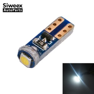 W3W T5 1SMD 3030 자동차 LED 빛 Canbus 오류 무료 계기판 램프 속도계 웨지 기반 조명 전구 12V 흰색