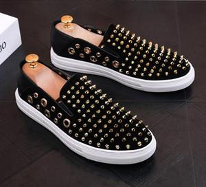 NOVA alta qualidade da moda dos homens sênior estilo britânico Rrivet sapatos de luxo dos homens ao ar livre sapatos de vestido casual c20