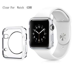 3D Touch Ultra Clear Soft ТПУ Крышка Бампер Apple Watch Series 4 3 2 Защитная пленка для экрана 38мм / 42мм / 40мм / 44мм для Apple Watch 4 Корпуса