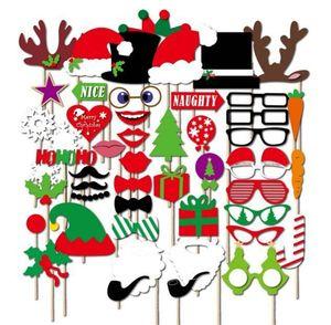DIY صور بوث الدعائم الإبداعية يونيكورن التصوير دعامة عيد الطفل عيد الميلاد حزب الديكور 6 5xb ج ص