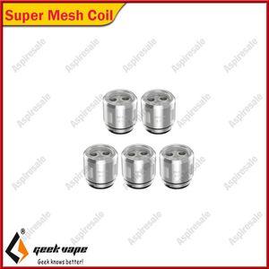 100% Original Geekvape Super Mesh Coil 0.2ohm Replacement Coils 30W to 90W for Aegis Legend Kit