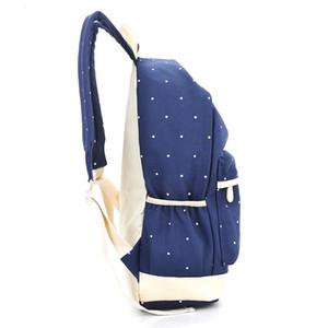 New School Taschen Reise Students Taschen Canvas Rucksack Frauen Schultertasche Campus Bag Jacquard-adrette Art Softback