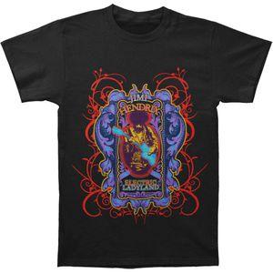 Jimi Hendrix Herren Electric Ladyland T-Shirt Schwarz