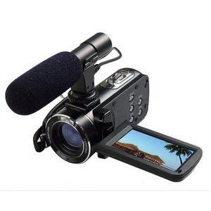 "ORDRO HDV-Z20 1080P Digitaler Full-HD-Videokamera-Camcorder 24MP 16xZoom 3.0 ""LCD-Bildschirm Digitalkamera"