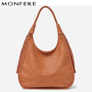 venta al por mayor de la marca Hobo Bag mujeres bolsos Hombro grande Faux Leather Faux Tassel Big Totes Ladies alta calidad Top-handle Bag Nuevo
