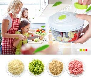 Utensili da cucina per frutta in metallo Cipolla Tritatutto per aglio Tritacarne Multifunzionale Mano veloce Trituratori per frutta tritata Accessori per affettare