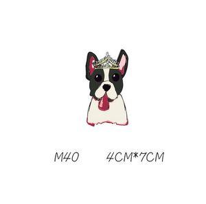 Köpek Etiketler T-Shirt Ve Hoodies Komik DIY Çıkartmalar Erkekler Kadınlar Için Çiftler Aşk Yamalar Demir-on Transfers Yamalar Giysileri