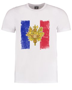 Drapeau français - symbole national de fierté nationale de la France T-shirt Homme