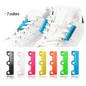 1 زوج 6 لون الأربطة رباط الحذاء المغناطيسي الإغلاق كسول الأربطة lacet chaussure الأربطة الأحذية لا لربط الأربطة الأحذية كسول