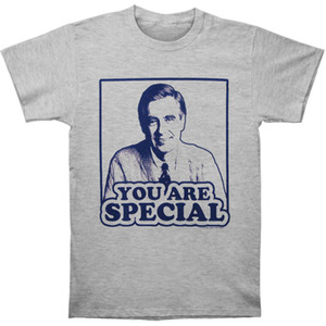 Mr. Roger's Neighborhood Camiseta hombre You're Special Slim fit Gris Heather