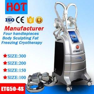 Тучная замерзая машина 4 головки cryotherapy шкафут уменьшая машину RF кавитации тучное уменьшение тела lipo ваяя cryo лазера уменьшая машину