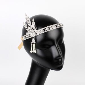 Lüks Gümüş Altın El Yapımı Gelin Şapka Kristal Tiara Başlığı Gelin HeadWear tiara para noiva Düğün Saç Aksesuarları