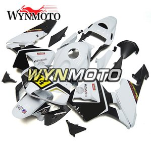 Для Honda CBR600RR F5 Полного обтекатель Kit Body Kit Год 2003 2004 03 04 Желтых Белый Мотоцикл ABS Инъекция передка